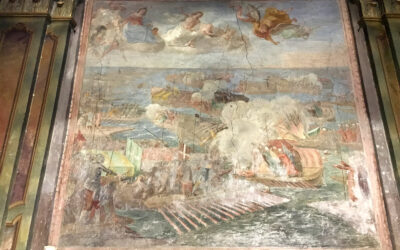 Restauro affreschi del Claret a Mondovì Carassone